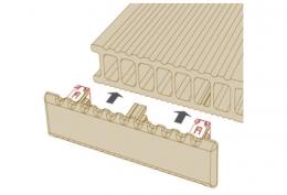Заглушка TWINSON  O-Terrace (Бельгия)(9557)