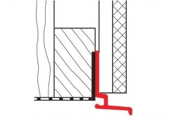 Начальный профиль для вертикального монтажа Werzalit