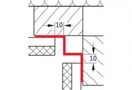 Внутренний угловой профиль 2 Werzalit