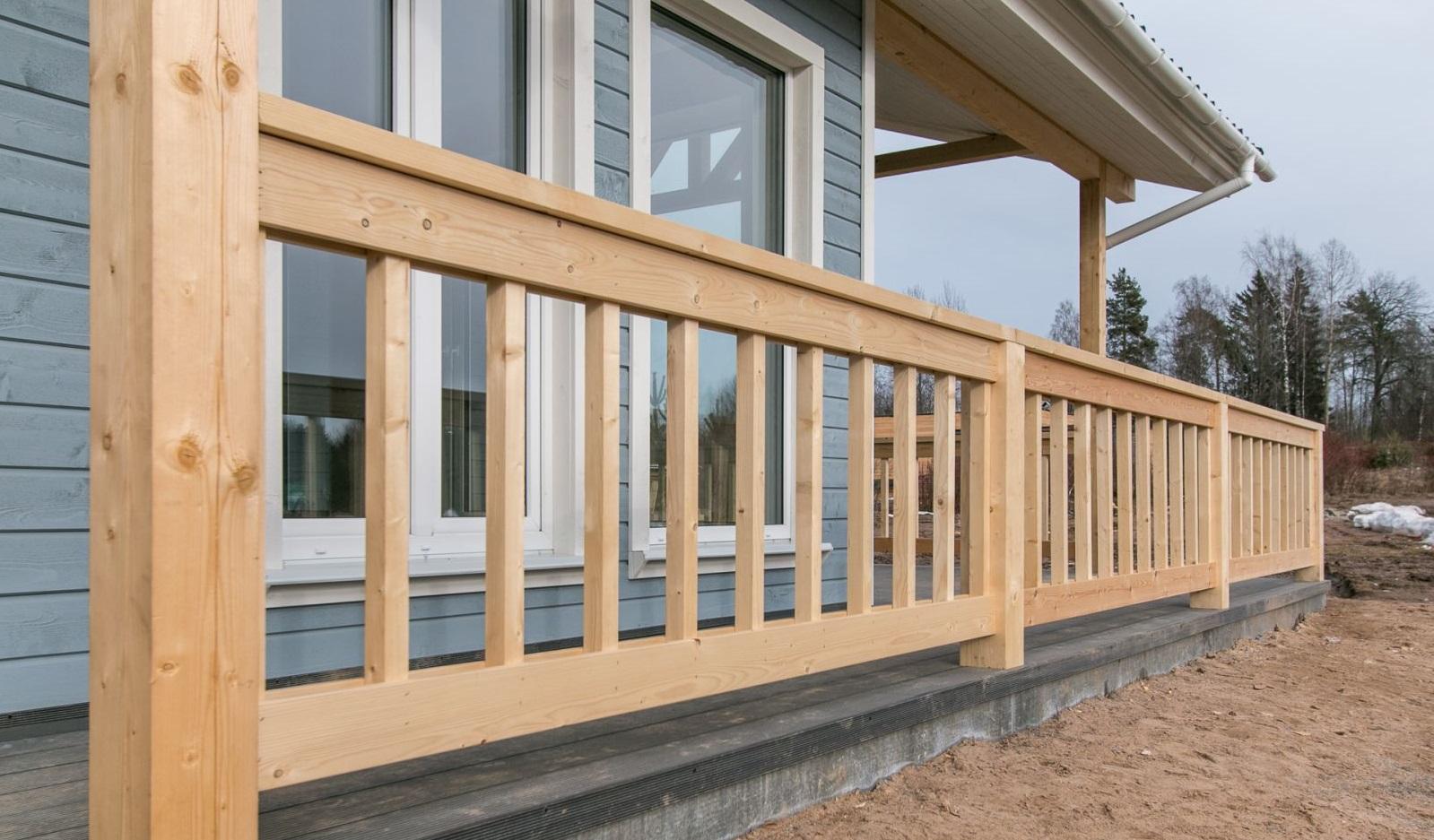 деревянные ограждения балконов и террас фото покупают то