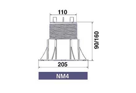 Cерия NEW-MAXI (без корректора угла наклона) NM4