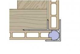 Профиль-угол наружный  Premium flat 167 Twinson (9565)