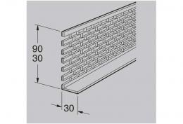 Вентиляционная решетка 30х30 Werzalit