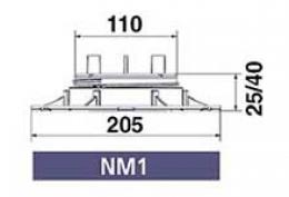 Серия NEW-MAXI (без корректора угла наклона) NM1