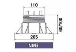 Серия NEW-MAXI (без корректора угла наклона) NM3